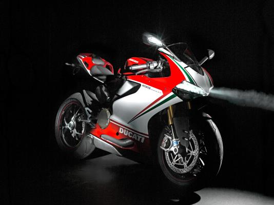 DUCATI 1199 Panigale S Tricolore Design Made in Italy