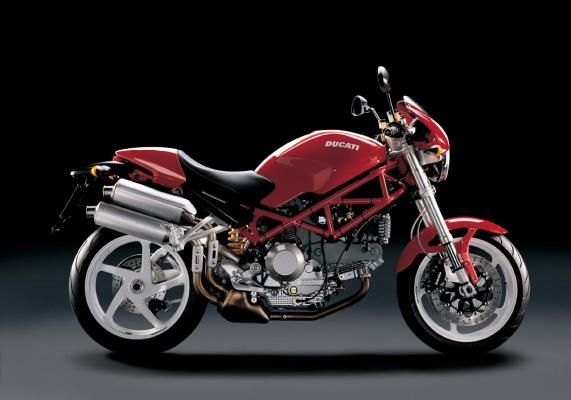 DUCATI Monster S2 R Design Made in Italy